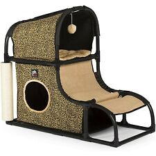Prevue Pets Catville Loft - Leopard Print - Free Shipping In The United States