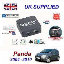 Fiat PANDA MP3 USB CD AUX Card Reader Audio Adapter Digital CD Changer Module