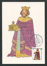 GUERNSEY MK 1985 WEIHNACHTEN CHRISTMAS NAVIDAD CARTE MAXIMUM CARD MC CM d9165