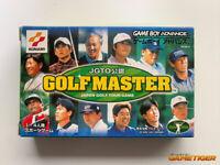 JGTO GOLF MASTER Japan Golf Tour Konami GBA Nintendo Game Boy Advance JAPAN