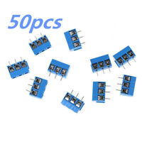 KF301-3P Pitch 5.0mm 3 Pin Connect Terminal Screw Connector Set 12A 300V 50PCS