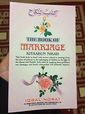 Kitabun Nikah Book On Marriage  A Book In  English Islamic New
