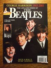 Beatles Life And Times Of The Beatles Magazine 2002 George Harrison 1943-2001