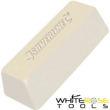 Silverline White Polishing Compound 500g Buffing Steel Hard Metals Iron