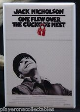 "One Flew Over The Cuckoo's Nest Poster - 2"" X 3"" Fridge Magnet. Jack Nicholson"