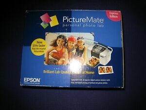 EPSON PICTUREMATE PERSONAL PHOTO LAB EXPRESS EDITION PRINTER - NEW