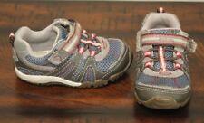 Stride Rite Blue Sneakers sz 5 Xw Wide Toddler Boys Shoes Srt Flex Sole Eeuc