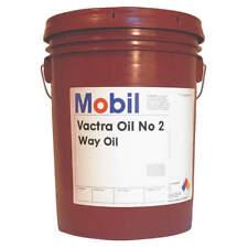MOBIL 105480 Way Oil,Brown,Mineral,5 gal.
