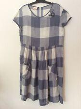 maiocchi dress size 16-linen/ nylon