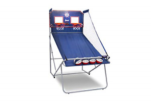 Pop-A-Shot Official Dual Shot Sport Basketball Arcade Game - 10 Games - 6 Audio