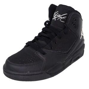 Nike Air Jordan SC-2 GS Boys Shoes 454088 010 Basketball Leather Black Size 5 Y