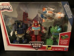 Transformers Rescue Bots Griffin Rock Rescue Team Playskool Heroes New