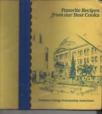 BUFFALO, NEW YORK Jesuit Catholic College 400 recipes PAPERBACK SPIRAL '84 illus