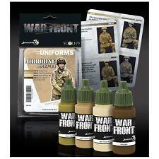Scale 75 War Front US Airborne 1943-44 WW2 Acrylic Paint Set 4 Bottles