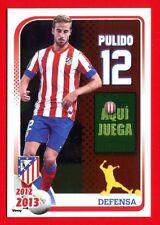 ATLETICO MADRID 2012-2013 Panini - Figurina-Sticker n. 79 - PULIDO -New