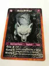 HUNTS-AT-NIGHT: RAGE WYRM CCG card, Werewolf White Wolf TCG, 7 Renown character