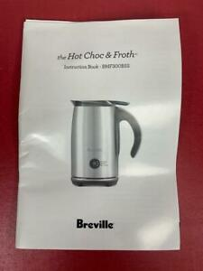 Breville BMF300  Hot Choc Chocolate Frother Manual
