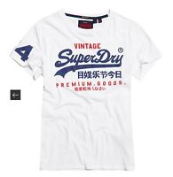 Superdry Optic White Goods Duo Light Graphic T-Shirt Sz S NWT