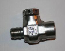 """1/4"""" Npt Ss Inline Pressure Relief Valve (Set 1800 Psi) Parker Hannifin 68477"""