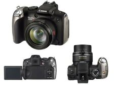 CANON PowerShot SX20 IS 12.1MP, 20x Wide Zoom Digital Camera -Black. BOXED