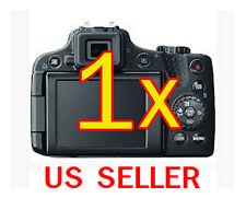 1x Canon PowerShot SX50 HS Clear LCD Screen Protector Guard Shield Film
