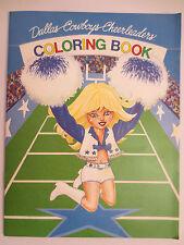 DALLAS COWBOYS NFL CHEERLEADERS 1st Edition 1982 COLORING BOOK TRANSMEDIA, INC.