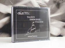 TALENTI EMERGENTI ITALIANI - CAMERATA STRUMENTALE CAMPANA 2 X CD BOX COME NUOVO