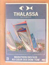 DVD DOC / THALASSA / MARATHON DES ILES AU COEUR DES DOM TOM / NEUF SOUS CELLO