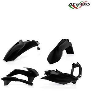 ACERBIS Set Fairings Plastic Black KTM 300 EXC 2T 2014-2016