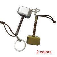 Marvel The Avengers Thor Thor's Hammer 3D Metal Keyring Key Chain 7.7cm*3.3cm