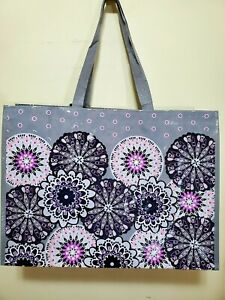 VERA Bradley in MIMOSA MEDALLION reusable eco XL MARKET Tote shopping, Gift bag