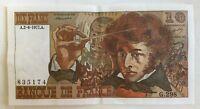 Billet De Banque 10 Francs Berlioz Du 2-6-1977 G.298 835174 1 Épinglage