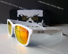 Skullrider Polarized Sunglasses. Artic White Nebula H12. Group Hawkers