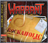 WARRANT-ROCKAHOLIC-JAPAN CD BONUS TRACK BONUS TRACK F75
