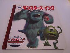 Monsters inc-Japanese-Book-Japan-Disney-Pixar