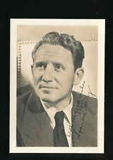Film Theatre SPENCER TRACY c1920/30s? Plain back photo Card