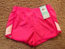 SKECHERS ACTIVE girls athletic shorts PINK - sz 10/12 - NWT