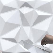 3D Wandpaneele Selbstklebend Deckenpaneele Platten Paneele Diamant Polystyrol