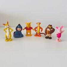 Disney Winnie The Pooh Figurines Eeyore Tigger Rabbit Piglet Owl Kids Gift