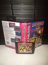 Streets of Rage 3 with Sonic the Hedgehog Game for Sega Genesis! Cart & Box!