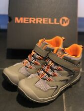 Merrell Waterproof Hiking Boots, Barely Used, Size 4, Boys, Unisex
