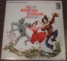 The Wizard of Oz 1962 album of original 1939 soundtrack E3996 vinyl gatefold LP+
