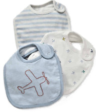 BABY GIRLS BIBS 5 PACK EX MOTHERCARE MIXED DESIGN COTTON MULTIPACK BIBS NEW
