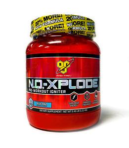 BSN NO-XPLODE Pre-Workout Energy, Endurance, Pump, 60 Servings PICK FLAVOR SALE