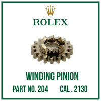 ♛ ROLEX Winding Pinion, High Quality, Swiss Made, Part No. 204 For Cal. 2130 ♛