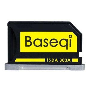 """BASEQI 303A Aluminum 100% Hidden microSD Adapter for MacBook Pro Retina 13"""""""
