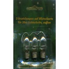 Ersatzlampen 3er 8V/1,5W für 30er Aussenlichterkette XA11962
