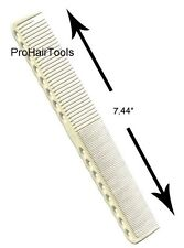 YS Park 336 Fine Cutting Grip Comb In WHITE From Japan 100% Genuine