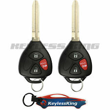 2 Replacement for 2009-2013 Toyota Matrix Key Fob Keyless Entry Car Remote