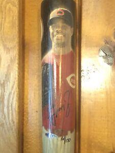 Ken Griffey Jr Autographed Bat UDA #d 16/130 Limited Reds Coa Rare